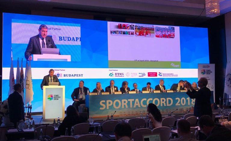 SPORTACCORD, LO SPORT MONDIALE A SCUOLA DALLA GUIDA ITALIANA DI CSIT PER I GRANDI EVENTI SPORTIVI