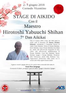 VICENZA, STAGE DI AIKIDO CON IL MAESTRO HIROTOSHI YABUUCHI SHIHAN @ Vicenza | Vicenza | Veneto | Italia
