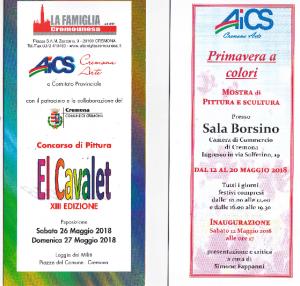 """CREMONA, MOSTRE """"PRIMAVERA A COLORI E """"EL CAVALET"""" @ Cremona   Cremona   Lombardia   Italia"""