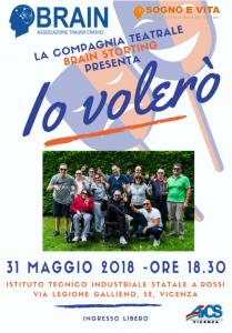 """VICENZA, LA COMPAGNIA """"BRAIN STORTING"""" PRESENTA 2IO VOLERO'"""" @ Vicenza   Vicenza   Veneto   Italia"""