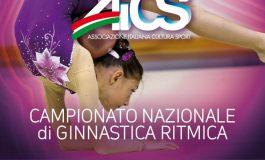 GINNASTICA RITMICA, 500 ATLETE AL CAMPIONATO NAZIONALE AICS