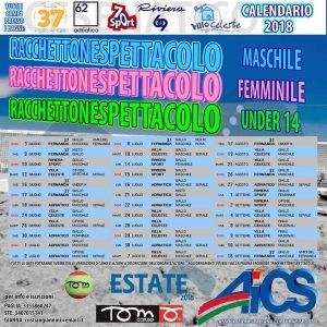 FORLI', RACCHETTONE-SPETTACOLO A CESENATICO DAL 3 GIUGNO AL 2 LUGLIO @ Forli | Forlì | Emilia-Romagna | Italia