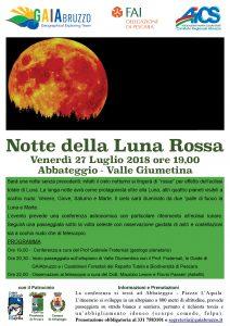 PESCARA, CONFERENZA E PASSEGGIATA PER LA LUNA ROSSA @ Pescara | Pescara | Abruzzo | Italia