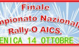 CINOFILIA, FINALE CAMPIONATO NAZIONALE RALLY-O AICS