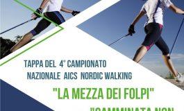 NORDIC WALKING, TAPPA DEL 4° CAMPIONATO NAZIONALE AICS