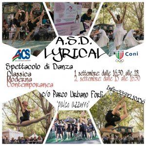 FORLI', SPETTACOLO DI DANZA CON ASD LYRICAL @ Forli | Forlì | Emilia-Romagna | Italia