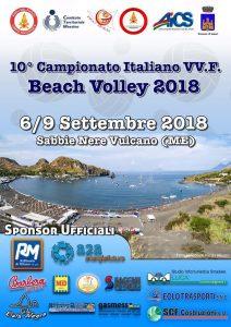 MESSINA, BEACH VOLLEY: A VULCANO IL CAMPIONATO ITALIANO VIGILI DEL FUOCO @ Messina | Messina | Sicilia | Italia