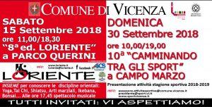 VICENZA, CAMMINANDO TRA GLI SPORT @ Vicenza   Vicenza   Veneto   Italia