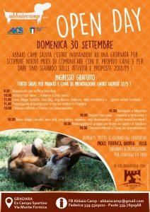 GRADARA: CINOFILIA, OPEN DAY ALL'ABBAIO CAMP @ Gradara | Gradara | Marche | Italia