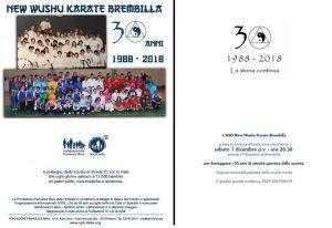 BERGAMO, NEW WUSHU KARATE BREMBILLA FESTEGGIA I SUOI 30 ANNI DI ATTIVITA' @ Bergamo | Bergamo | Lombardia | Italia