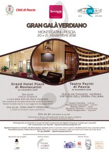 PISTOIA, GRAN GALA' VERDIANO @ Pistoia | Pistoia | Toscana | Italia