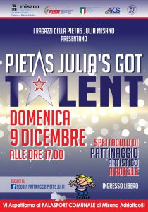 RIMINI, PIETAS JULIA'S GOT TALENT @ Rimini