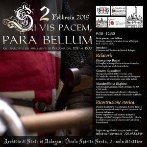 BOLOGNA, RIEVOCAZIONI STORICHE: CONVEGNO IL 2 FEBBRAIO ALL'ARCHIVIO DI STATO @ Bologna