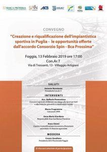 FOGGIA, CONVEGNO SULLA RIQUALIFICAZIONE DELL'IMPIANTISTICA SPORTIVA IN PUGLIA @ Foggia