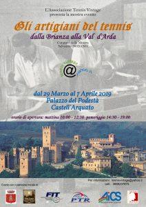 PIACENZA, MOSTRA SUGLI ARTIGIANI DEL TENNIS @ Piacenza