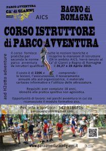 BAGNO DI ROMAGNA, CORSO ISTRUTTORE DI PARCO AVVENTURA @ Bagno di Romagna
