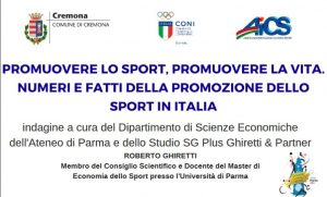 """CREMONA, """"PROMUOVERE LO SPORT, PROMUOVERE LA VITA"""" @ Cremona"""
