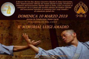 """ROMA - SCIENZE OLISTICHE, 2° MEMORIAL """"LUIGI AMADIO"""" @ Roma"""