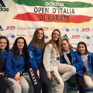 PARMA, XX OPEN D'ITALIA KARATE: BRONZO PER CECILIA MASSARI @ Parma