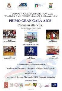 ASTI, PRIMO GRAN GALA' AICS ASTI @ Asti