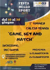 ANCONA, FESTA DELLO SPORT: 1° TORNEO CALCIO - TENNIS @ Ancona
