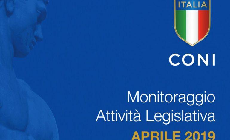 MONITORAGGIO LEGISLATIVO, TUTTE LE NOVITA' DI APRILE