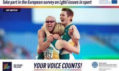 OUTSPORT: Omofobia e transfobia nello sport, i dati della ricerca europea