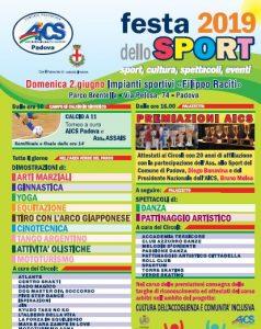 PADOVA, FESTA DELLO SPORT @ Padova