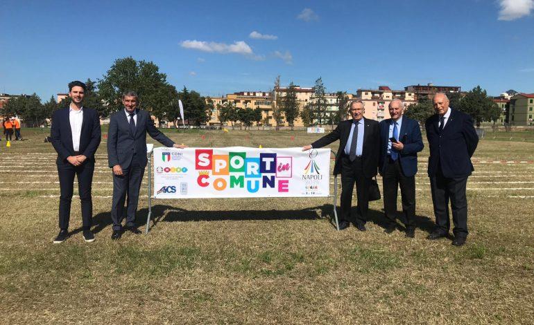 A CASERTA FESTA GRANDE PER LE FINALI REGIONALI DI SPORT IN COMUNE