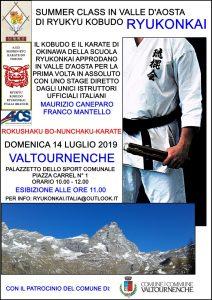 TORINO, Seminario di RyuKyu Kobudo Ryukonkai a Valtournenche - Valle d'Aosta @ Torino