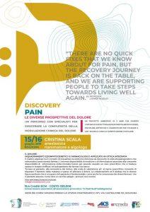 Discovery Pain – le diverse prospettive del dolore @ Bologna