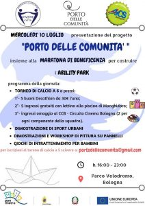BOLOGNA, MARATONA DI BENEFICIENZA PER L'ABILITY PARK @ Bologna