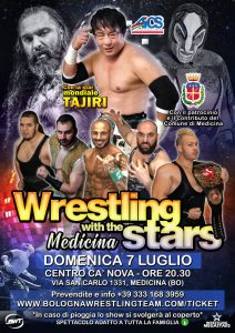 BOLOGNA, WRESTLING with the Stars @ Bologna