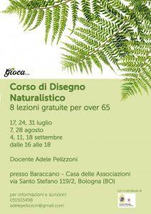 BOLOGNA, Corso di Disegno Naturalistico @ Bologna