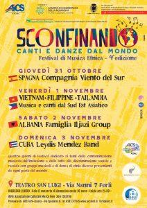 A FORLI' CON AiCS arriva SCONFINANDO, FESTIVAL della MUSICA ETNICA @ Forli