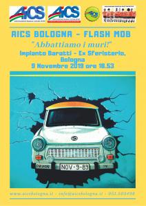 """BOLOGNA, FLASH MOB """"ABBATTIAMO I MURI"""" @ Bologna"""