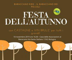 BOLOGNA, FESTA DELL'AUTUNNO A BARACCANO KIDS @ Bologna