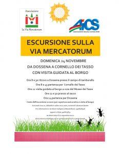 BERGAMO, ESCURSIONE SULLA VIA MERCATORUM @ Bergamo