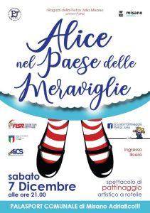"""RIMINI, 7 DIC: SPETTACOLO DI PATTINAGGIO ARTISTICO """"ALICE NEL PAESE DELLE MERAVIGLIE"""" @ Rimini"""