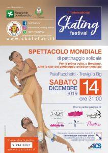 BERGAMO, 14 DIC: SPETTACOLO MONDIALE DI PATTINAGGIO SOLIDALE @ Bergamo
