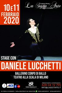 GROSSETO, 10 E 11 FEBBRAIO: STAGE DI DANZA CON DANIELE LUCCHETTI @ Grosseto