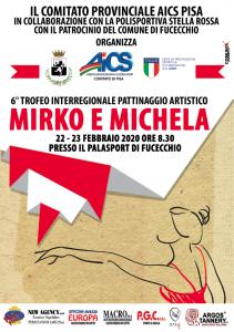 """FUCECCHIO, 22-23 FEBBRAIO: 6° TROFEO INTERREGIONALE DI PATTINAGGIO ARTISTICO """"MIRKO E MICHELA"""" @ FUCECCHIO"""
