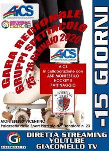 VICENZA, 25-26 GENNAIO: PATTINAGGIO ARTISTICO, GARA REGIONALE GRUPPI SPETTACOLO @ Vicenza