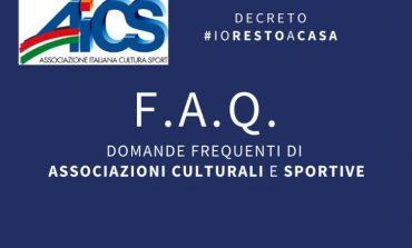 DECRETO #IORESTOACASA, DOMANDE FREQUENTI DI ASSOCIAZIONI SPORTIVE  E CULTURALI