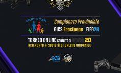 """CALCIO, TORNEO ON LINE GRATUITO DI FIFA20 """"TROFEO SPORT IN ORO"""""""
