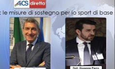 IL POST COVID, DIRETTA FB CON IL CAPO DELL'UFFICIO SPORT DEL GOVERNO