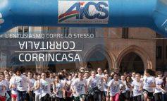 """CORRITALIA, A FORLI' IN 400 PARTECIPANO ALLA VERSIONE ON LINE """"CORRINCASA"""""""