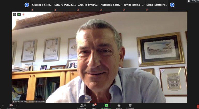 ASSEMBLEA AiCS IN VIDEO CONFERENZA, IL PRESIDENTE MOLEA: CAMBIA ASSOCIAZIONISMO, MA NOI RESTIAMO PUNTO DI RIFERIMENTO