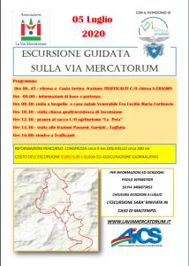 BERGAMO, ESCURSIONE GUIDATA SULLA VIA MERCATORUM @ Bergamo