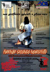 FIRENZE, AiCS e Teatro del Legame insieme per FIRENZE SECONDO NOVECENTO @ Firenze